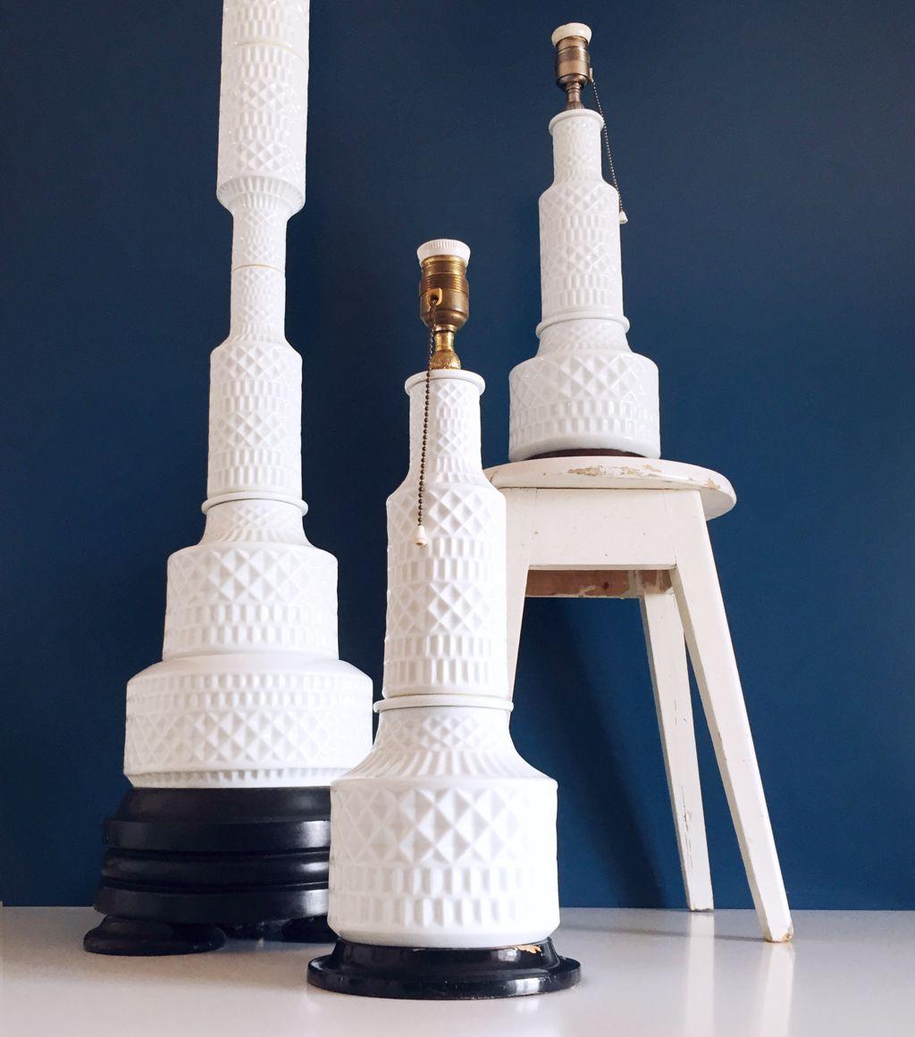Juego de l mparas de cer mica de sargadelos modelo for Lamparas de ceramica