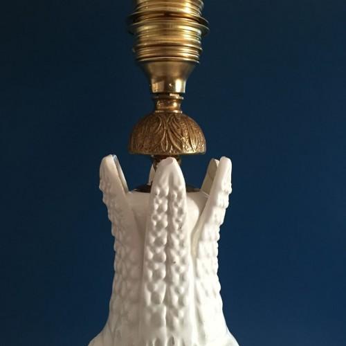 Gran lámpara de cerámica de Manises, vintage 50s-60s.