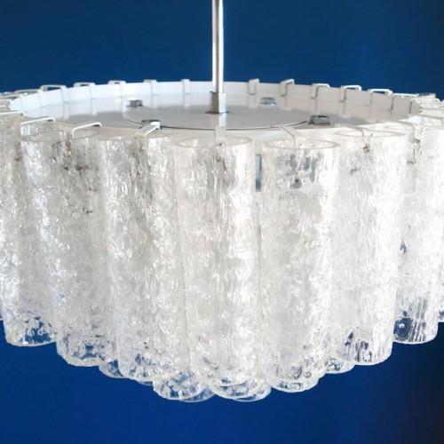 Lámpara chandelier Doria, vintage años 60s.