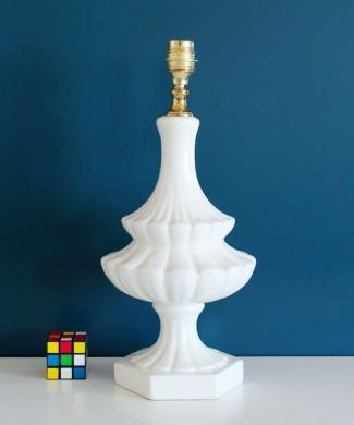 Lámpara de cerámica de Manises, estilo pagoda, vintage años 60.