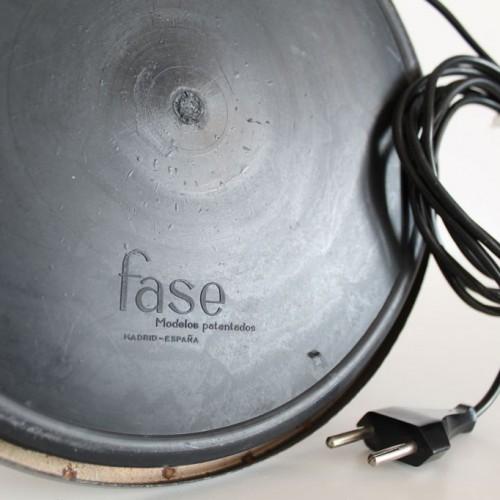 Lámpara de despacho FASE President, vintage 60s-70s. Muy buen estado.