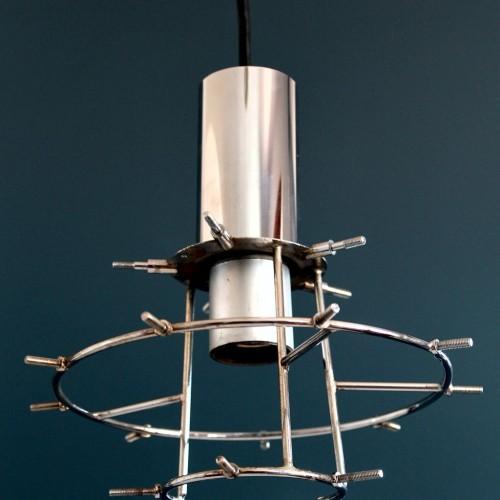 Lámpara de techo KINKELDEY (Alemania), excelente estado, vintage años 70.