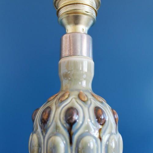 Lámpara de porcelana LLADRÓ. Vintage años 60s.