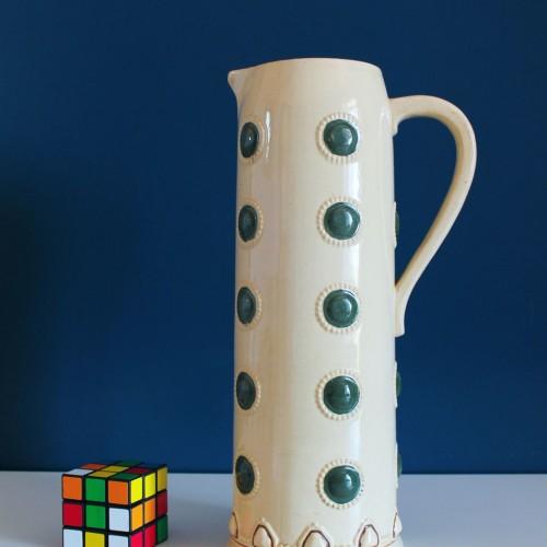 Jarra cervecera de cerámica de Paul Wynand para Marzi & Remy - 1912. Jugendstill - Art Nouveau. Alemania.