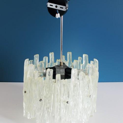 J.T. KALMAR FRANKEN espectacular lámpara de techo. Austria. Vintage años 60s.