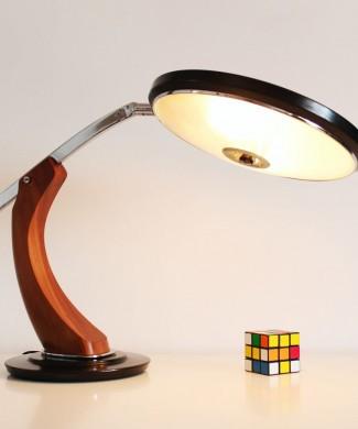 Lámpara de despacho FASE President, vintage 60s-70s.