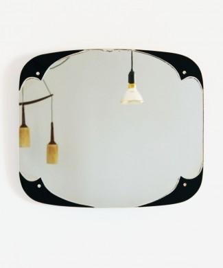Espejo Art Déco, vintage años 40s.