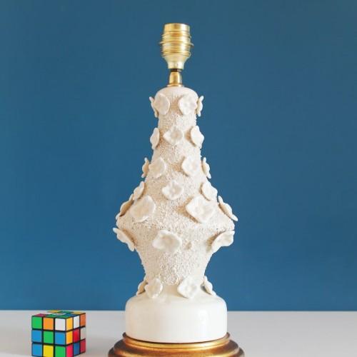 Lámpara de cerámica de Manises, Bondía. Vintage 50s-60s.