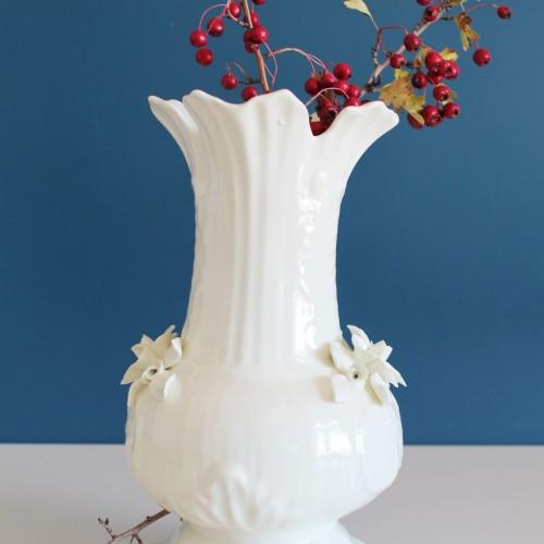 Jarrón de cerámica de Manises, vintage años 60.