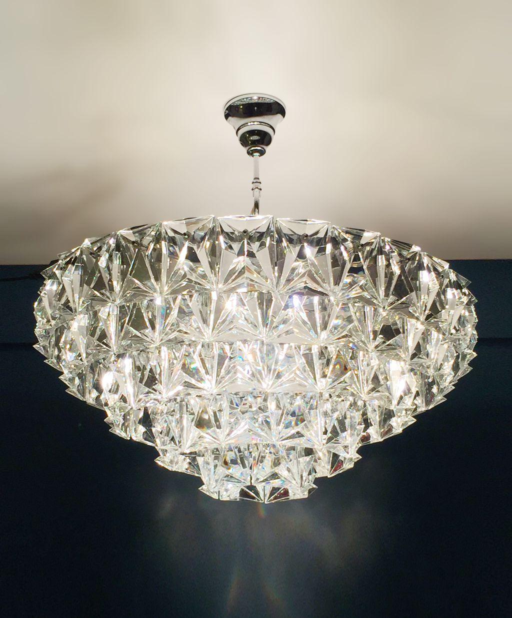 lamparas de cristal de techo lmpara de techo luz aeryn