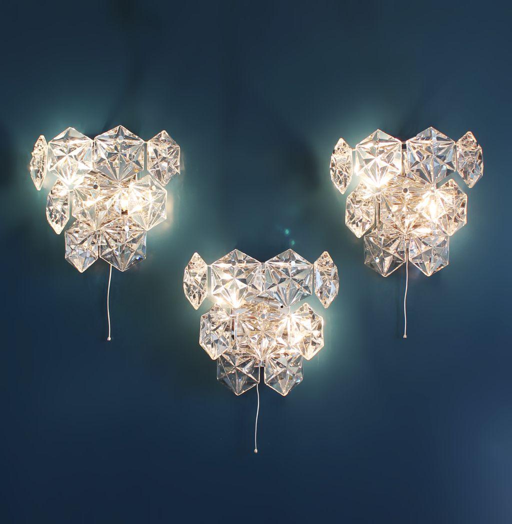 Kinkeldey leuchten tr o de apliques de pared de cristal - Apliques de pared originales ...