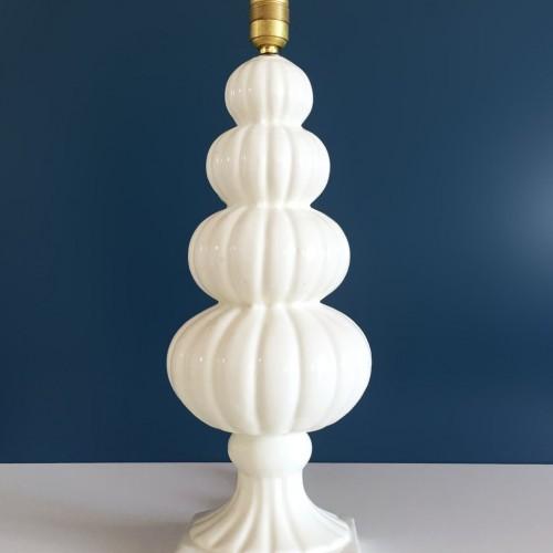 Lámpara de cerámica de Manises, Vintage 50s-60s.