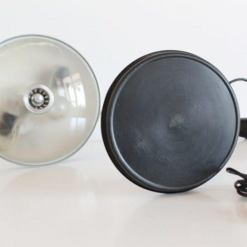 Lámpara de despacho FASE modelo PÉNDULO, vintage 60s-70s. Excelente estado.