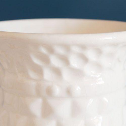 Jarrón de cerámica de Manises, vintage años 60s.