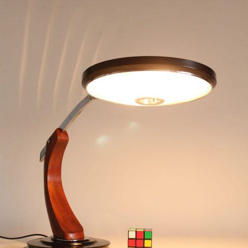 Lámpara de despacho FASE President, vintage 60s-70s. Excelente estado.