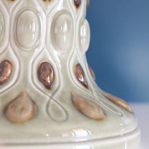 Lámpara de porcelana LLADRÓ, modelo antiguo descatalogado. Vintage años 60s.
