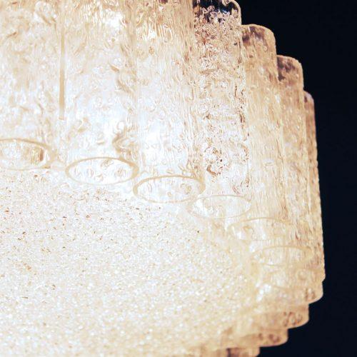 DORIA LEUCHTEN, Gran Lámpara de techo, vintage años 60s.