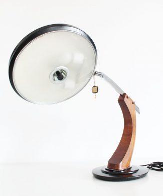 Lámpara de despacho FASE President, vintage 60s-70s. Impecable estado, con etiqueta original, ESPECIAL COLECCIONISTAS.
