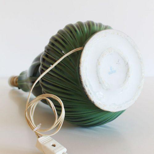 Lámpara de porcelana LLADRÓ, modelo FÉMINA D. EST. Vintage años 70s.