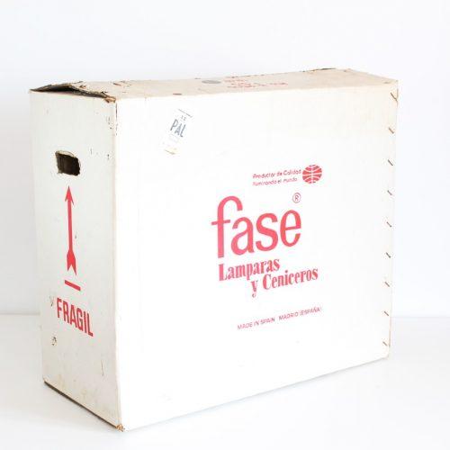 ESPECIAL COLECCIONISTAS - Lámpara de despacho FASE President. ¡Nunca usada, con etiqueta y embalaje original! Vintage 60s-70s.